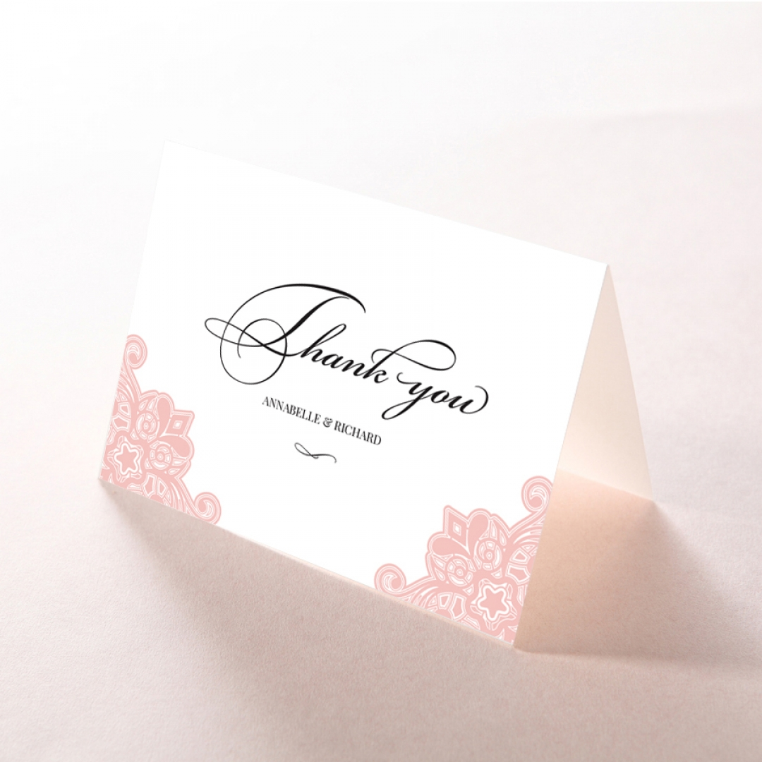 Floral Delight - Thank You Cards - DY1520-WH-PK - 175817