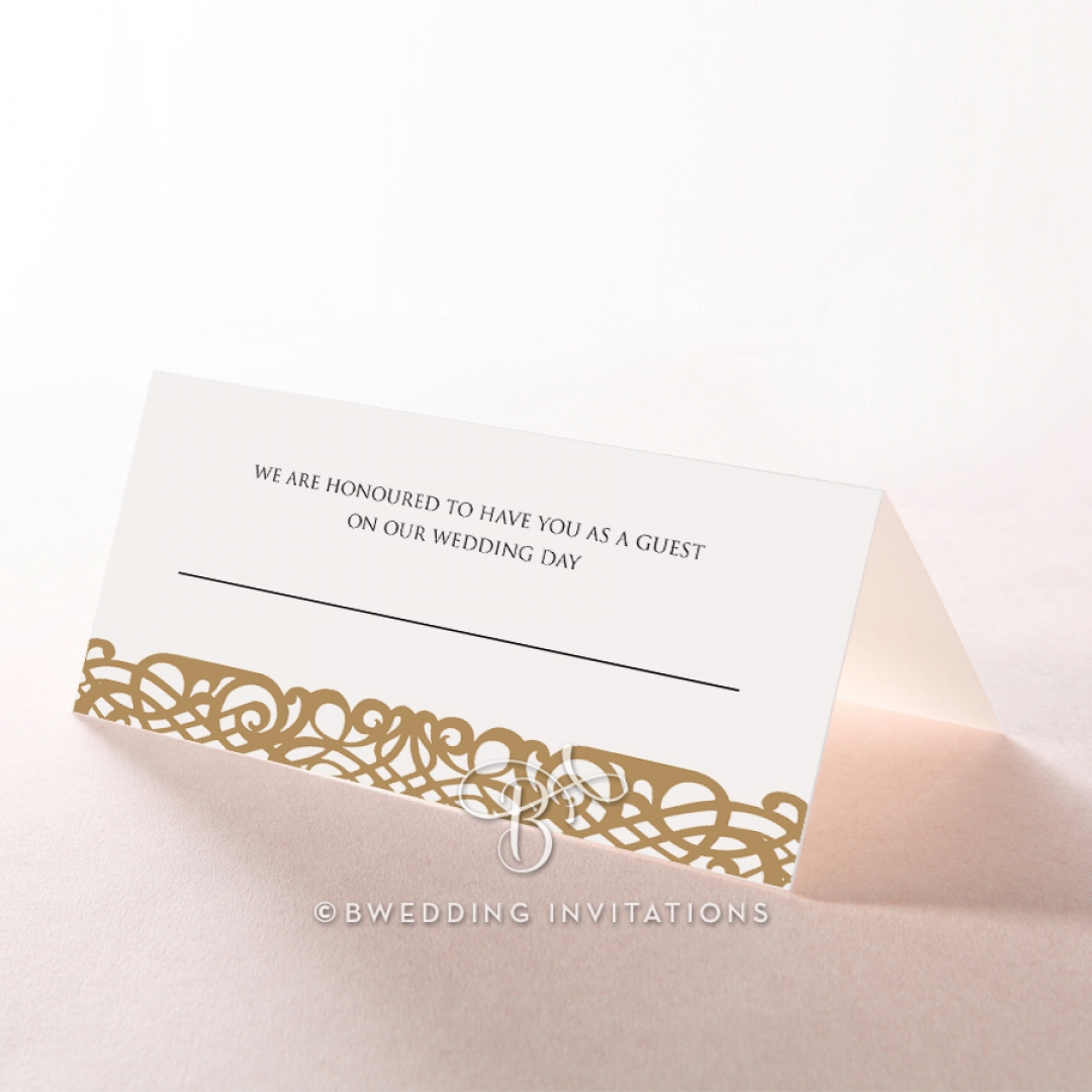 Enchanting Forest wedding stationery place card
