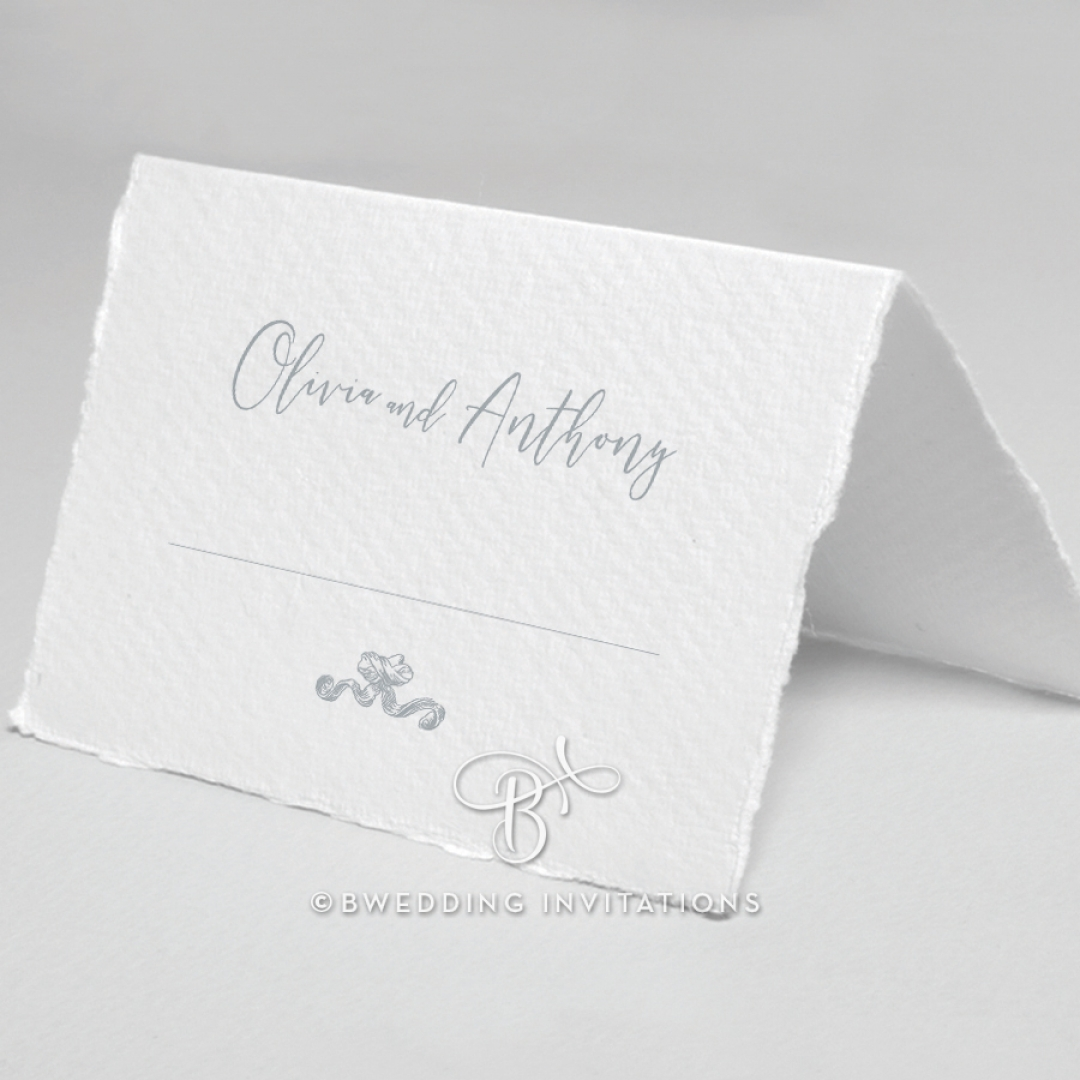 Leafy Wreath table place card stationery item