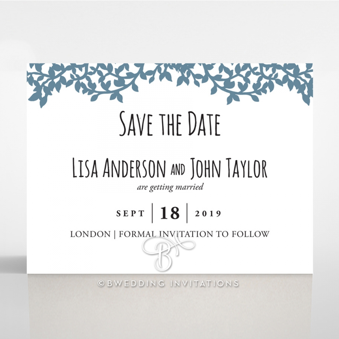 Forest Love save the date card design