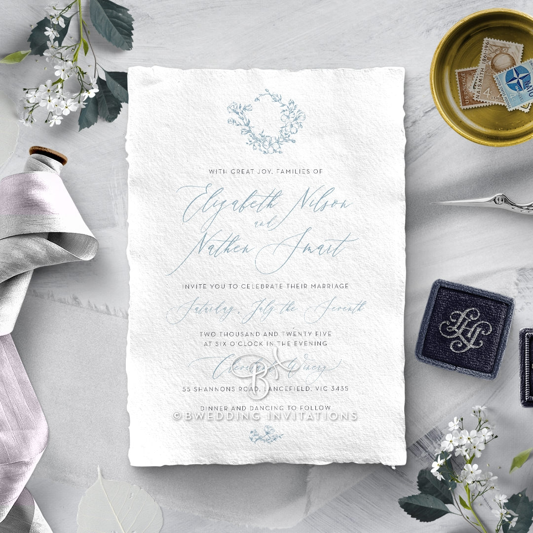 Enchanted garden Invitation Card Design