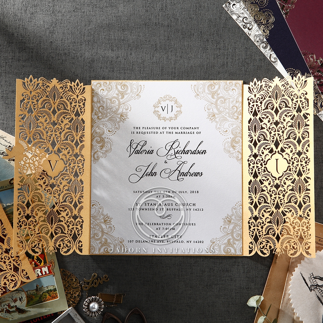 Formal and Elegant Wedding Invites I Online