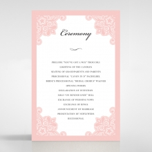 Floral Delight - Order of Service Cards - DG1520-WH-PK - 175808