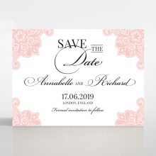 Floral Delight - Save the date - DS1520-WH-PK - 175819