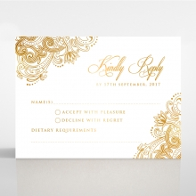 Imperial Glamour with Foil - RSVP Cards  - DV116022-NV-F - 143691