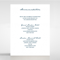 Eternal Simplicity accommodation enclosure invite card