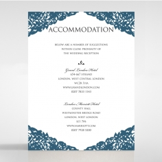 Royal Prestige accommodation invitation card design