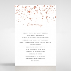 foiled wedding invitation star dust iwf16119 sample only ebay
