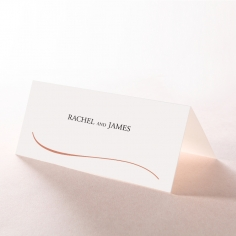 A Polished Affair wedding venue table place card design