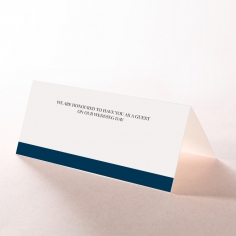 Forever Love Booklet - Navy wedding stationery place card item