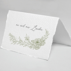 Love Estate wedding table place card design