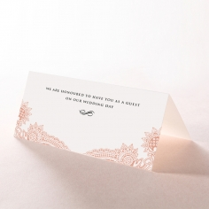 Regal Charm Letterpress wedding reception place card stationery item