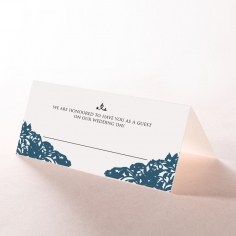 Royal Prestige wedding place card stationery