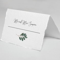 Tropical Island wedding place card stationery item