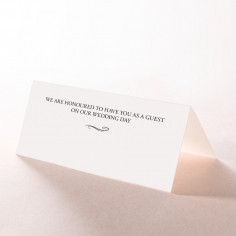 Written In The Stars reception place card