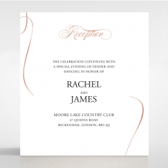 A Polished Affair reception stationery card design