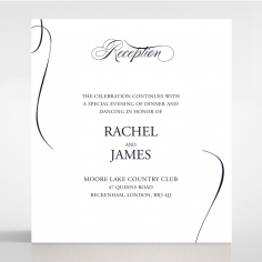 A Polished Affair reception stationery invite