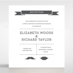Playful Love reception card