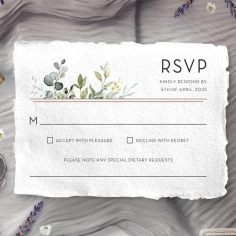 Botanic Romance rsvp wedding enclosure design