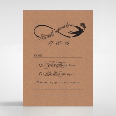 Precious Moments rsvp wedding card design
