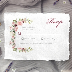 Vines of Love rsvp wedding enclosure design