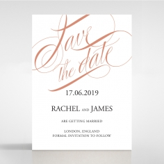 A Polished Affair save the date invitation stationery card item