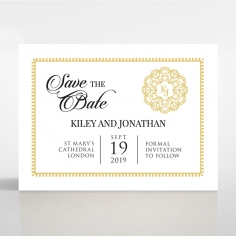 Blooming Charm save the date stationery card item