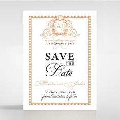 Royal Lace save the date invitation card design