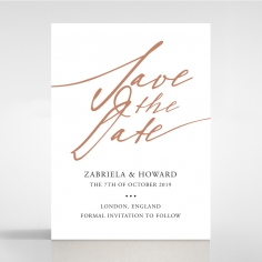 Sunburst save the date wedding stationery card design
