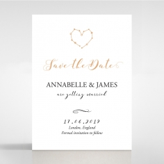 Written In The Stars save the date stationery card item