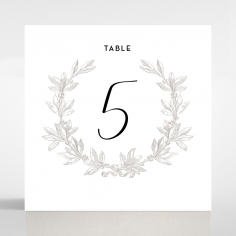 Paper Chic Rustic table number card stationery