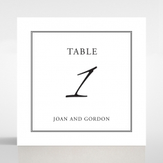 Paper Gilded Decadence wedding table number card stationery item