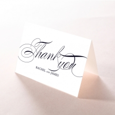 A Polished Affair wedding stationery thank you card design