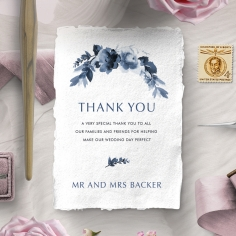 Blissful Union wedding thank you stationery card item