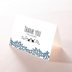 Forest Love wedding thank you stationery card