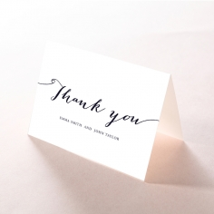 Infinity wedding thank you stationery card item