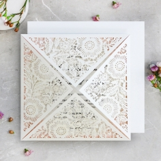 Blooming Charm Invitation Card Design