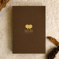 Enchanting Forest Invitation Card