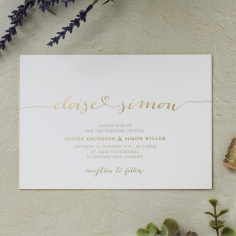 Infinity Invitation Card