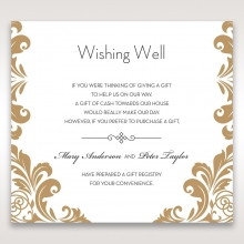 golden-antique-pocket-wishing-well-enclosure-stationery-invite-card-DW11090