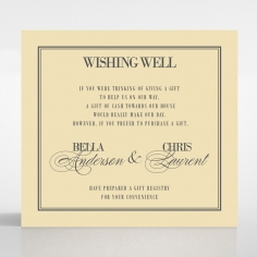 Wishing Well Gift Registry