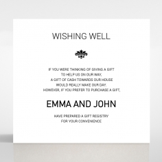 Paper Gilded Decadence wedding stationery gift registry invite card design