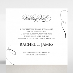 Paper Polished Affair wedding stationery gift registry enclosure card