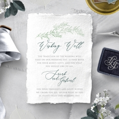 Simple Elegance wedding stationery gift registry invite card