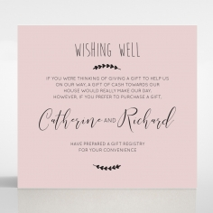 Sweet Romance wedding stationery wishing well invite card design