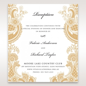 Wedding Stationery Reception Cards By B Wedding