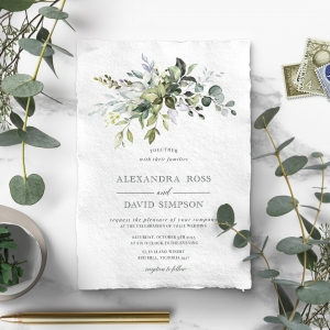 Beautiful Devotion Wedding Invitation