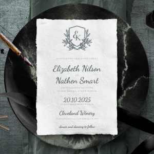 Castle Wedding Invite Card Design
