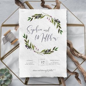 Country Charm Wedding Invite
