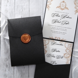 Imperial Pocket Invitation Card